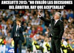 Enlace a El doble rasero de Ancelotti hablando de los árbitros