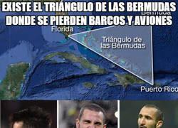 Enlace a El triángulo de las Bermudas