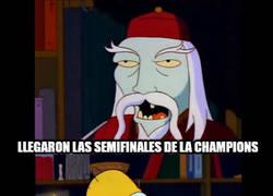 Enlace a Las semifinales de la Champions versión Simpson
