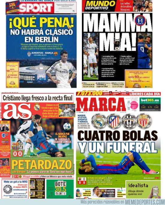 969277 - La prensa de Madrid se ha cobrado revancha