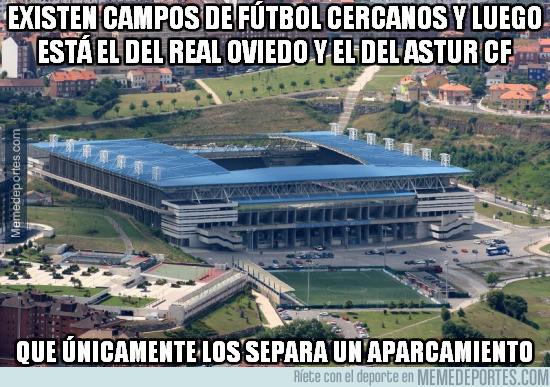 969376 - Increible cercanía entre los campos del Real Oviedo y del Astur CF