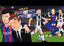Enlace a Vídeo: La genial parodia del Barça - Juventus en Champions con un temazo dedicado a André Gomes