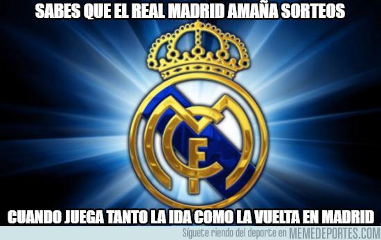 969451 - Sabes que el Real Madrid amaña sorteos. Por @norcoreano