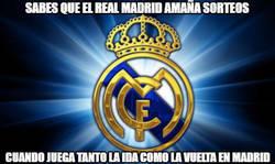 Enlace a Sabes que el Real Madrid amaña sorteos. Por @norcoreano