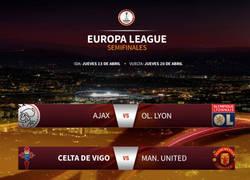 Enlace a Y aquí están los cruces de semis de la Europa League