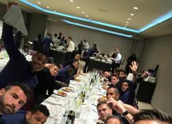 Enlace a Higuaín troleado en Instagram tras descubrirse su banquete post-partido 100% saludable