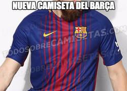Enlace a ¡Filtrada la nueva camiseta del Barça!