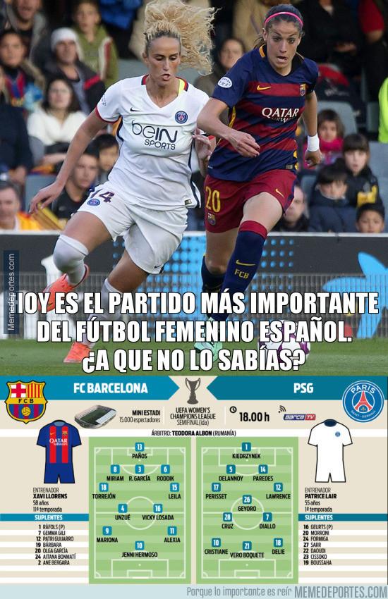 969632 - El Barça femenino podría hacer historia
