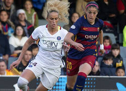 Enlace a El Barça femenino podría hacer historia