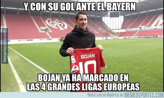 969680 - Bojan entró en la historia con su gol al Bayern