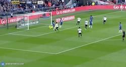 Enlace a GIF: Enorme cabezazo de Kane para empatar la semifinal en Wembley