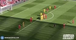 Enlace a GIF: ¡Qué misil de Coutinho para poner el 1-0 contra el Crystal Palace!