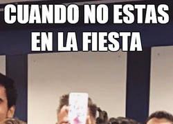 Enlace a Neymar presente en la fiesta del Bernabéu