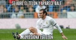 Enlace a Bale siempre se lesiona