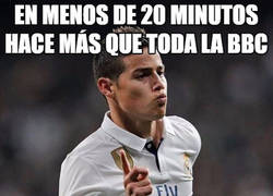Enlace a James seguirá siendo la última opción para Zidane