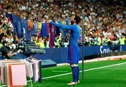 Enlace a Messi tendiendo la ropa es lo mejor que vas a ver hoy, por @gazpachoblog
