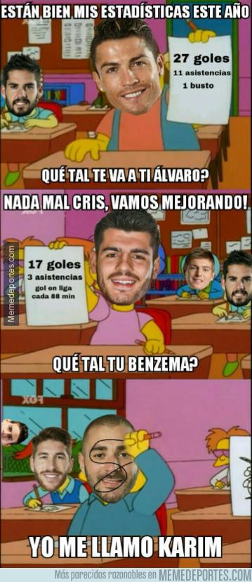 970702 - No está siendo buena la temporada de Benzema