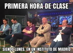 Enlace a Ayer en los institutos de Madrid...