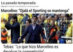 Enlace a ¿Si Míchel hace lo mismo contra el Madrid Tebas le dirá algo?