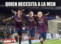 Enlace a El Barça tiene nuevo tridente