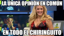 Enlace a La única opinión en común en todo el Chiringuito