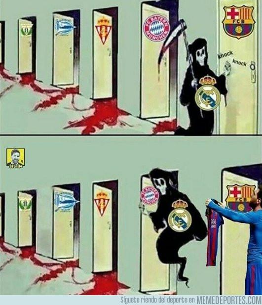 971445 - Messi le plantó cara a la muerte madridista