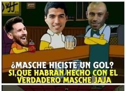 Enlace a La explicación lógica de cómo Mascherano logró marcar gol