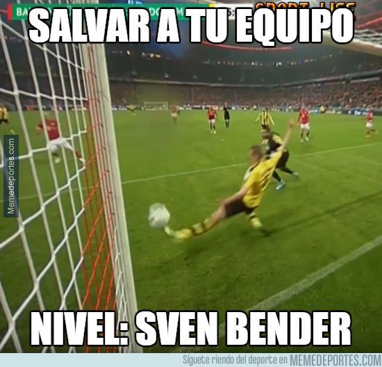 971512 - Salvar a tu equipo, nivel Sven Bender