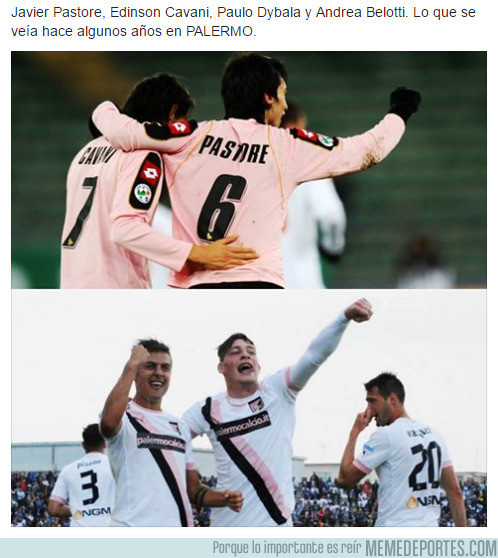 971595 - La fabrica futbolística del Palermo