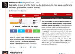 Enlace a Salen a la luz imágenes de todo lo que lanzó el Bernabéu a Messi con su celebración
