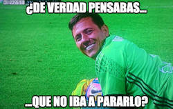Enlace a Diego Alves like a boss