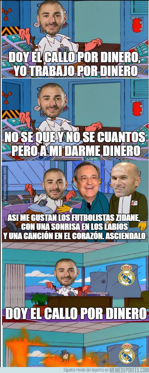 972035 - Y así es como Benzema sigue siendo de titular con el Real Madrid