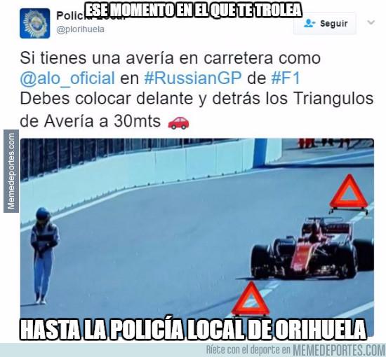 972274 - A Fernando Alonso le trolea todo el mundo ya
