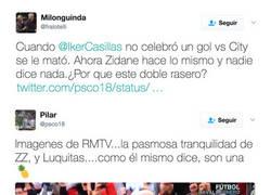 Enlace a TREMENDO: Iker Casillas llama Doña Rogelia a Pedrerol tras esta celebración de Zidane