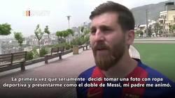 Enlace a ¡¡¡El doble de Messi iraní es para flipar!!!