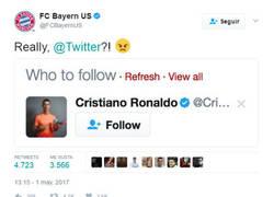 Enlace a La elegante y sutil troleada de Twitter al Bayern de Munich