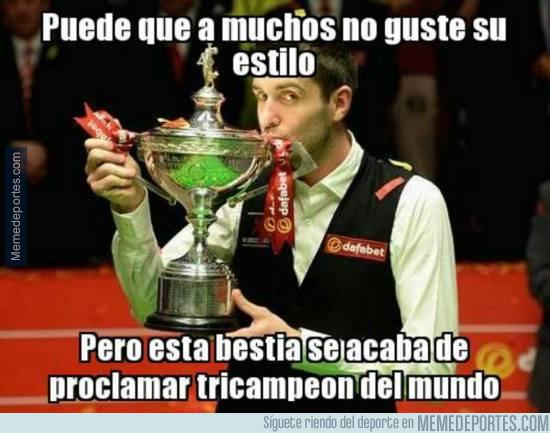 972481 - Mark Selby tricampeón del mundo de Snooker