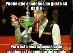 Enlace a Mark Selby tricampeón del mundo de Snooker