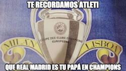 Enlace a Sacada del Real Madrid en el tifo