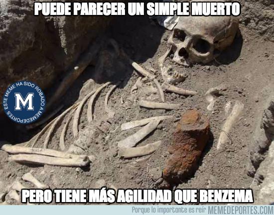 972677 - Muy mal Benzema desde hace tiempo...