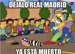 Enlace a El Real Madrid sin piedad contra el Atleti