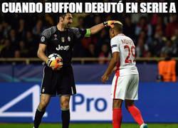 Enlace a Histórico encuentro entre Buffon y Mbappé