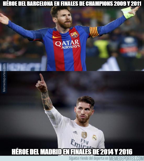 973275 - Los héroes de Madrid y Barça