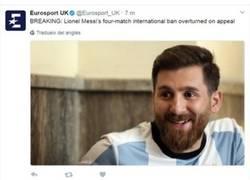 Enlace a El 'Messi iraní' engaña a Eurosport y se la cuela bien doblada