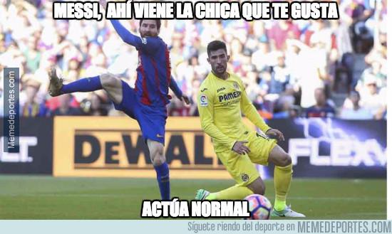 973625 - Messi, ahí viene la chica que te gusta