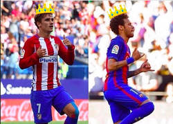 Enlace a El mensaje de Griezmann a Neymar. ¿Guiño al Barça?