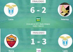 Enlace a La Lazio da goleadas a domicilio
