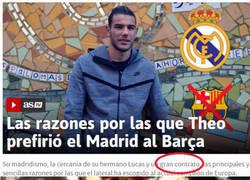 Enlace a Las razones de Theo para elegir el Madrid