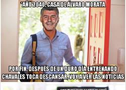 Enlace a El día soñado por Álvaro Morata