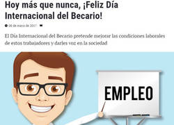 Enlace a Feliz dia Internacional del Becario